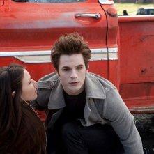 Jenn Proske e Matt Lanter in una prima immagine del film Vampires Suck