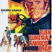 La locandina di Buon funerale, amigos!... paga Sartana