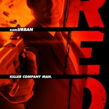 Character poster per Karl Urban in Red