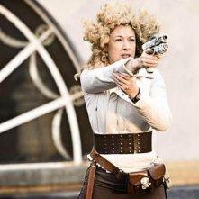 Alex Kingston in una scena dell'episodio The Big Bang di Doctor Who