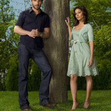 Ed Quinn e Salli Richardson per la 2 stagione di Eureka