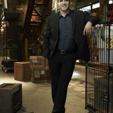 Eddie McClintock in una foto promo per la stagione 2 di Warehouse 13