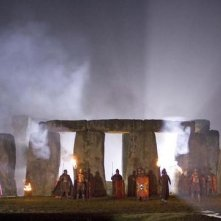 Stonehenge in una scena dell'episodio Pandorica Opens di Doctor Who