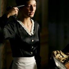 Alessandra Mastronardi in una scena della fiction Sotto il cielo di Roma