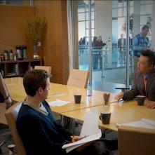 Kevin Connolly, Kevin Dillon e Rex Lee nell'episodio Dramedy di Entourage