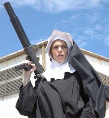 Lindsay Lohan suora pericolosa in Machete