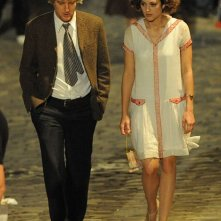 Owen Wilson e Marion Cotillard sul set di Midnight in Paris