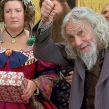 Aleksandr Lenkov in una scena del fantasy Il maestro della pietra magica