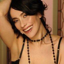 Anna Marcello in una foto di posa per servizio fotografico