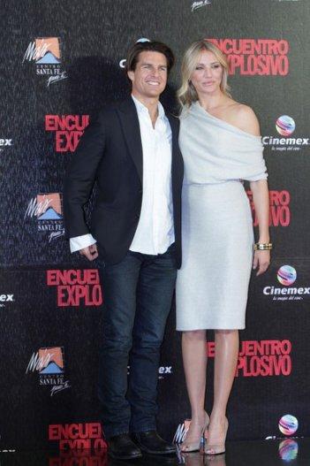 Cameron Diaz e Tom Cruise in Messico