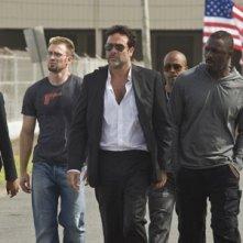 Jeffrey Dean Morgan è Clay nell'action movie The Losers