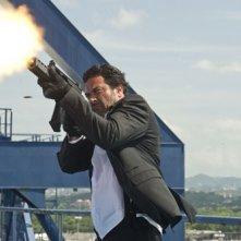 Jeffrey Dean Morgan, tra i protagonisti del film The Losers