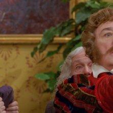 Leonid Kuravlyov in una scena del fantasy Il maestro della pietra magica