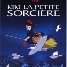 Locandina francese del film d\'animazione Kiki\'s delivery service ( 1989 )