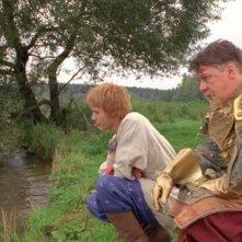 Maksim Loktionov e Mikhail Efremov in una scena del fantasy russo Il maestro della pietra magica