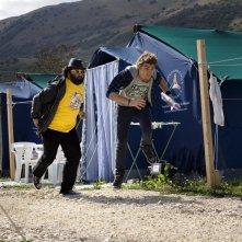 Nicola Nocella e Alan Cappelli in un'immagine del film La città invisibile