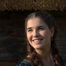 Primo piano di Mariya Andreeva dal film Il maestro della pietra magica