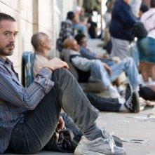 Robert Downey Jr. in un'immagine del film The Soloist