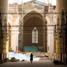 Una chiesa de L'Aquila ritratta nel film La città invisibile