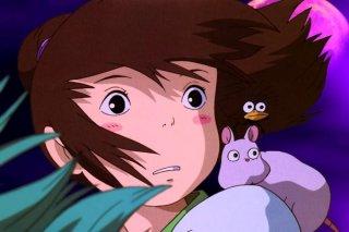 La piccola Chihiro in una bella sequenza de La città incantata - Spirited Away