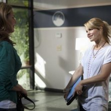 Peri Gilpin e Candace Cameron nell'episodio All Or Nothing di Make it or Break it