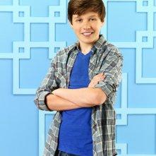 Nick Robinson in una foto promozionale della serie Melissa & Joey