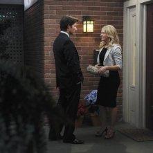 Philipp Karner e Melissa Joan Hart nel pilot di Melissa & Joey
