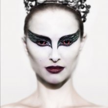 Un'irriconoscibile Natalie Portman in Black Swan