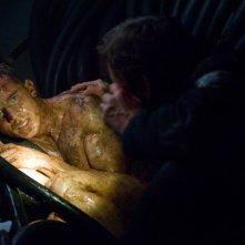 Ben Foster e Cam Gigandet in una scena di Pandorum