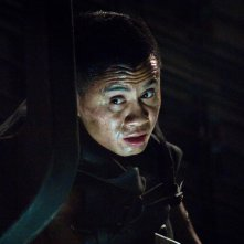 Cung Le in una scena del film Pandorum