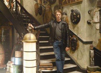 Il produttore Jerry Bruckheimer sul set del film L'apprendista stregone
