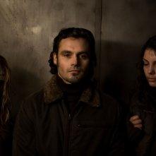 Natalia Rybicka, Karolina Gorczyca e Jan Wieczorkowski, protagonisti dell'horror Time Of Darkness