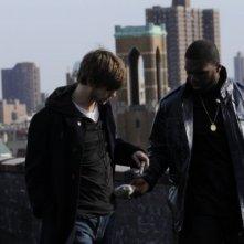 50 Cent e Chace Crawford in una scena di Twelve