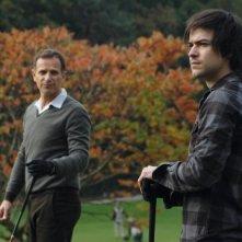 Marc-André Grondin e Grégori Dérangère nel film Insoupçonnable