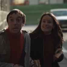 Pietro Casella e Carlotta Saletti nel film Pietro