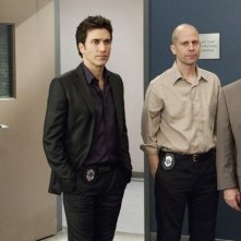 Ben Bass in una scena dell'episodio Honor Role di Rookie Blue