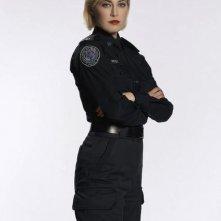Charlotte Sullivan in una immagine promozionale della serie Rookie Blue