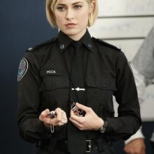 Charlotte Sullivan in una scena dell'episodio Honor Role di Rookie Blue