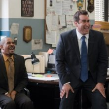 Damon Wayans Jr. e Rob Riggle nella commedia The Other Guys