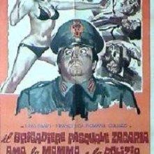 La locandina di Il brigadiere Pasquale Zagaria ama la mamma e la polizia