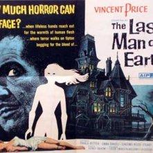 Lobby card del film L\'ultimo uomo della Terra ( 1964 )