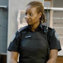 Melanie Nicholls King nell'episodio Signals Crossed di Rookie Blue
