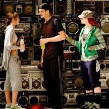 Sharni Vinson, Rick Malambri e Kendra Andrews nel film Step Up 3-D