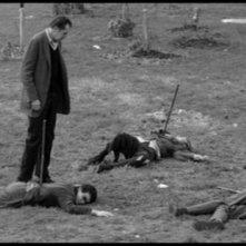 Vincent Price in una sequenza de L\'ultimo uomo della Terra del 1964