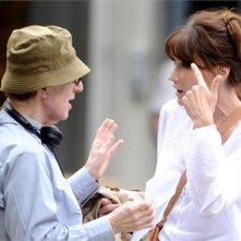 Carla Bruni recita per Woody Allen