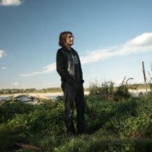 Una bella immagine di Luciano Ligabue nel documentario Niente Paura