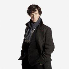 Benedict Cumberbatch è Sherlock Holmes nella serie Sherlock