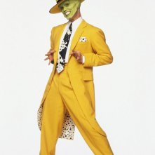 Jim Carrey in una foto promozionale per il film The Mask - da zero a mito
