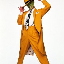 The Mask (Jim Carrey) in una foto promo del film The Mask - da zero a mito