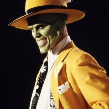 Un'immagine promo di Jim Carrey per The Mask - da zero a mito